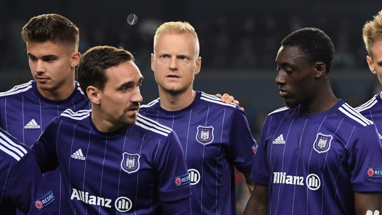 Anderlecht have struggled in Europe