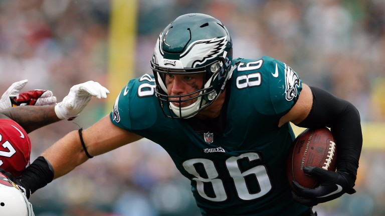 Zach Ertz is a potent weapon for Philadelphia