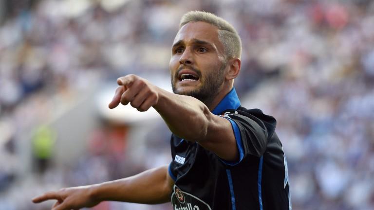 Deportivo striker Florin Andone