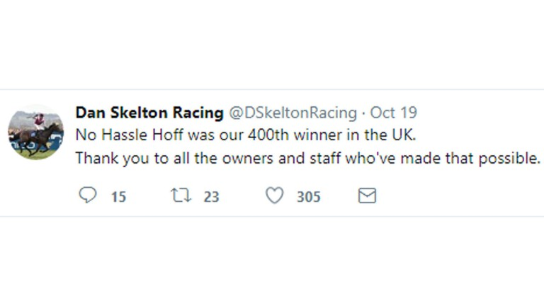 Dan Skelton tweet