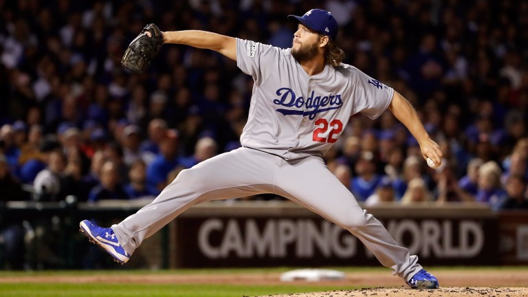 Clayton Kershaw of the LA Dodgers is rated the best pitcher in baseball