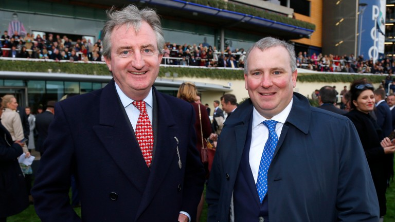 Mark McStay (right) with John Ferguson