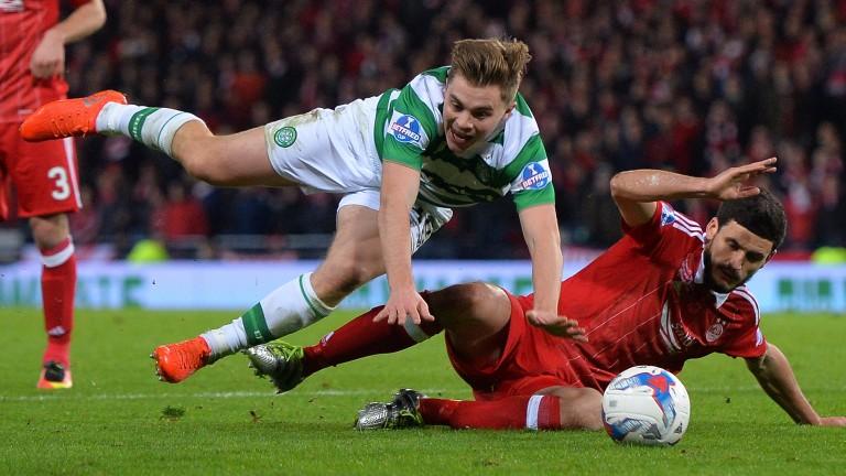 Celtic beat Aberdeen in two Cup finals last season