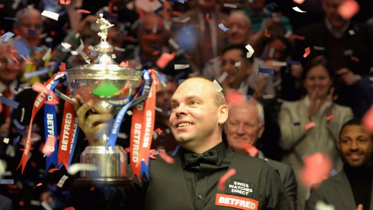 Stuart Bingham won the World Snooker Championship in 2015