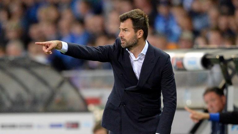 Club Brugge head coach Ivan Leko