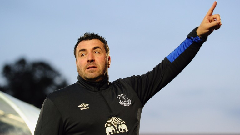 Everton's interim manager David Unsworth