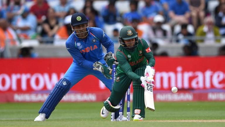 Mushfiqur Rahim of Bangladesh in Champions Trophy action