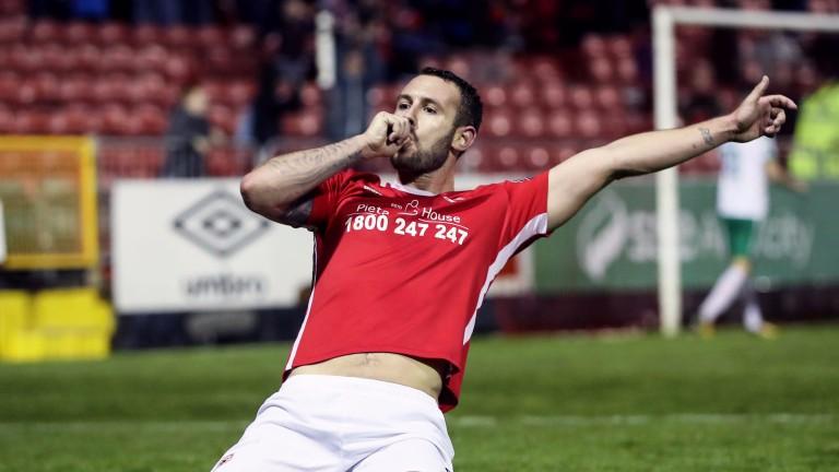 St Pat's leading scorer Kurtis Byrne