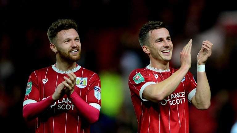 Bristol City saw off Crystal Palace to reach the last eight