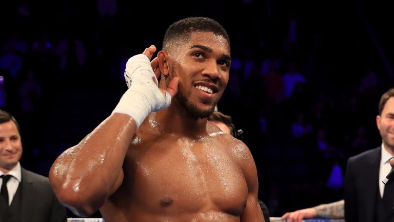 Heavyweight champ Anthony Joshua