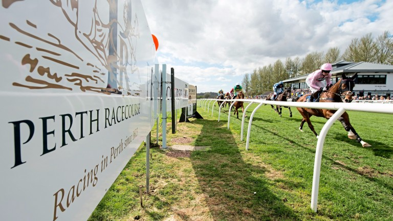 Perth racecourse: major investment already paying dividends
