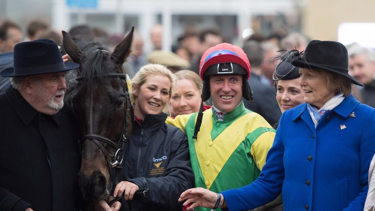 Sizing John's groom Ashley Hussey will ride in the inaugural Up The Yard Challenge