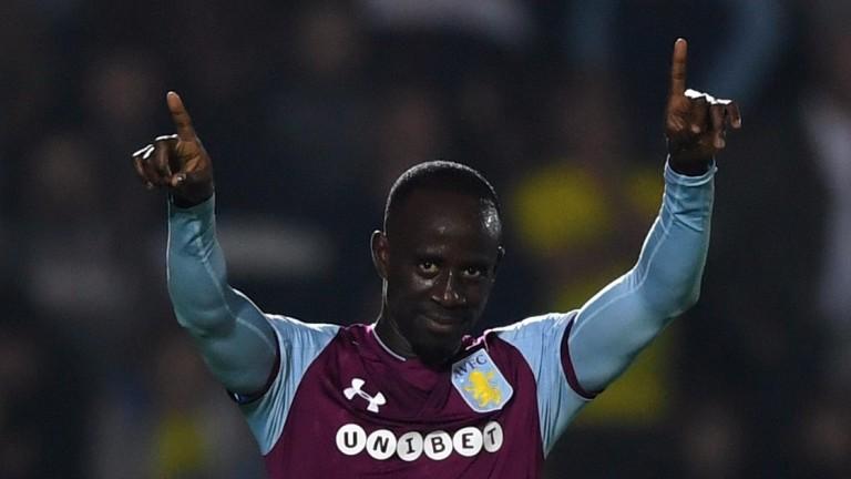 Albert Adomah of Aston Villa