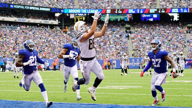 Hunter Henry is a big threat for the Los Angeles Chargers