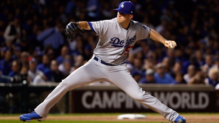 Dodgers pitcher Alex Wood has been thrown in the deep end