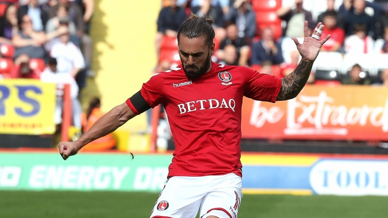 Ricky Holmes was the Charlton match winner