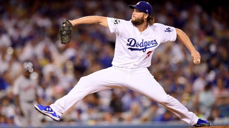 LA Dodgers pitcher Clayton Kershaw