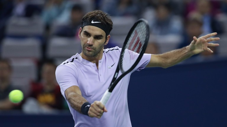 Roger Federer shows no sign of age catching up with him