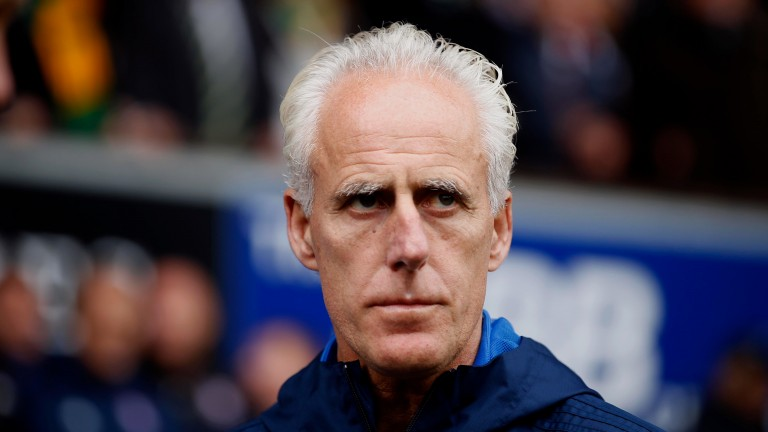 Mick McCarthy was a target for Ipswich fans