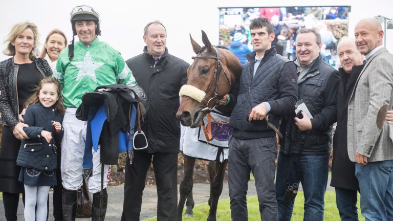 Connections of Presenting Percy after his impressive chase debut at Galway