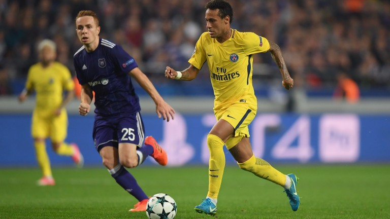 Neymar is expected to return to the PSG attack