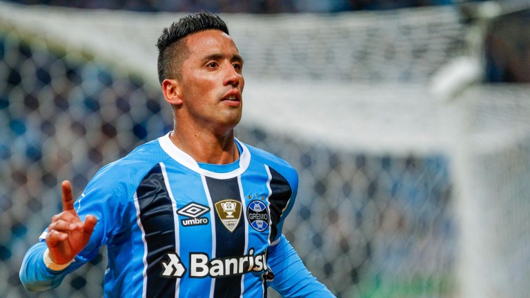 Lucas Barrios is hitting form for Gremio