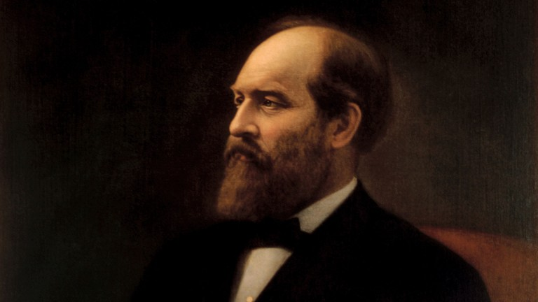 James Garfield: the 20th president of the United States was assassinated in 1881