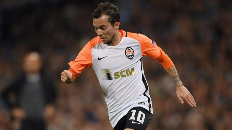 Shakhtar Donetsk Bernard scored twice in Rotterdam