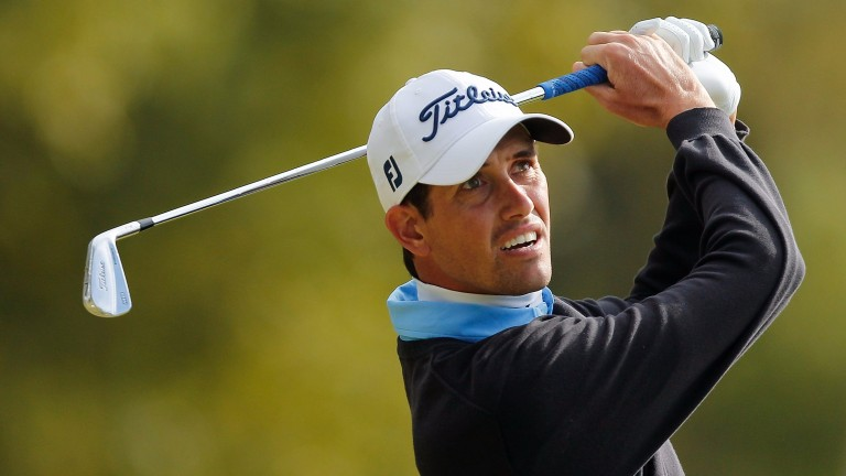Chesson Hadley has rocketed up the world rankings