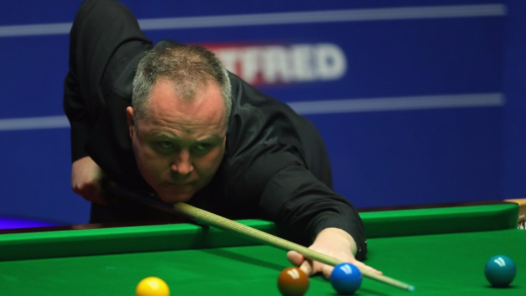 John Higgins could have his work cut out