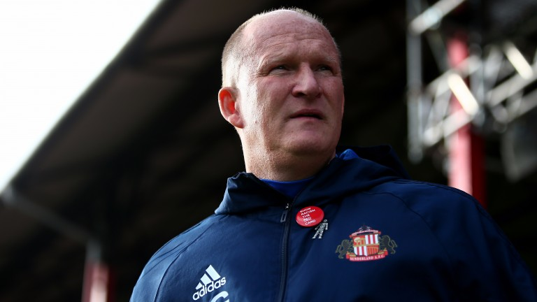 Simon Grayson has paid the price for Sunderland's woes this season