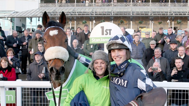 Irving: won the Grade 1 Fighting Fifth Hurdle at Newcastle twice