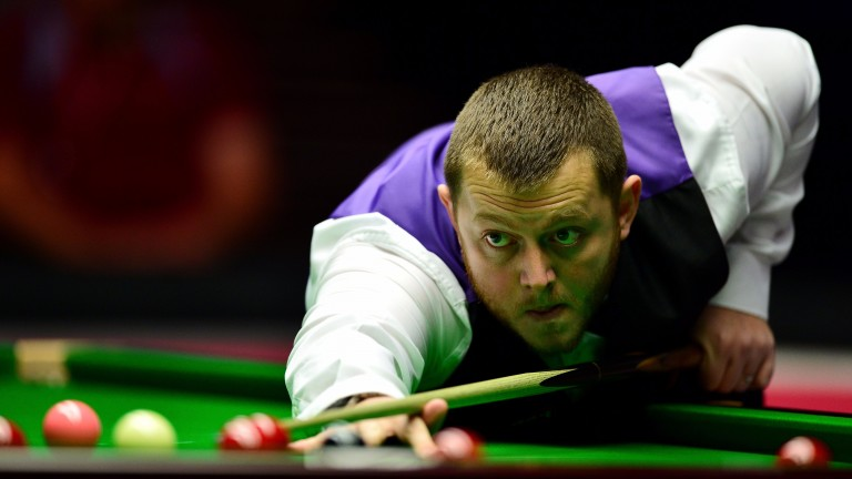 Mark Allen's luck could run out in China on Saturday