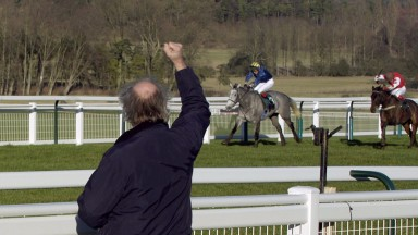 David Ashforth cheers home 100-1 shot Cetti's Warbler at Towcester