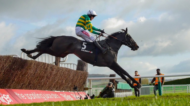 Le Prezien: took the Grand Annual under Barry Geraghty