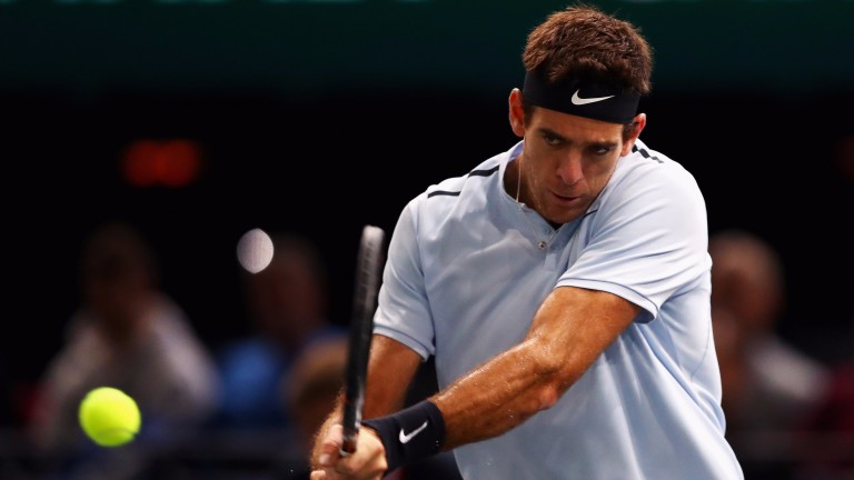 Juan Martin del Potro is still hopeful of claiming an ATP Finals place