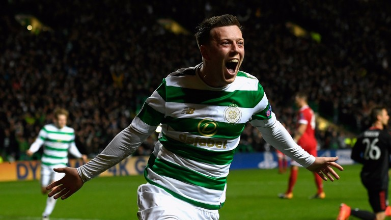 Callum McGregor netted in Celtic defeat to Bayern Munich in midweek