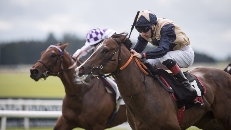 Beckford lands the Group 2 Railway Stakes at the Curragh