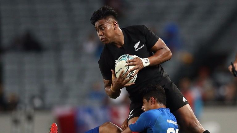 All Blacks winger Julian Savea