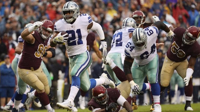 Dallas running back Ezekiel Elliott