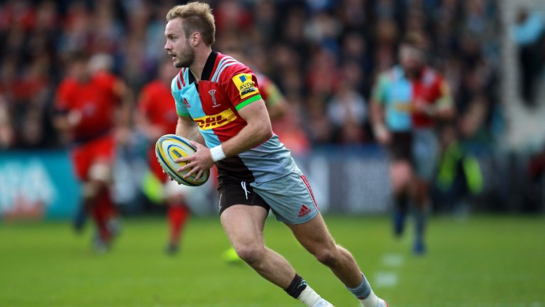 Harlequins wing Charlie Walker is in fine tryscoring form