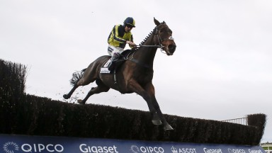Go Conquer with another fine leap in Ascot's feature