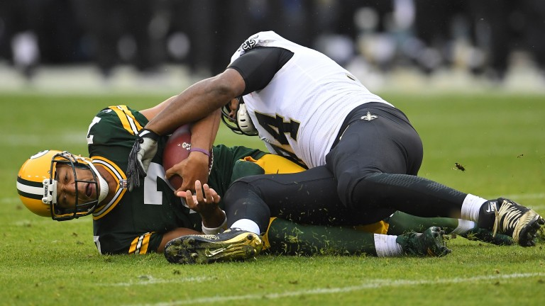 Green Bay quarterback Brett Hundley has struggled since replacing Aaron Rodgers