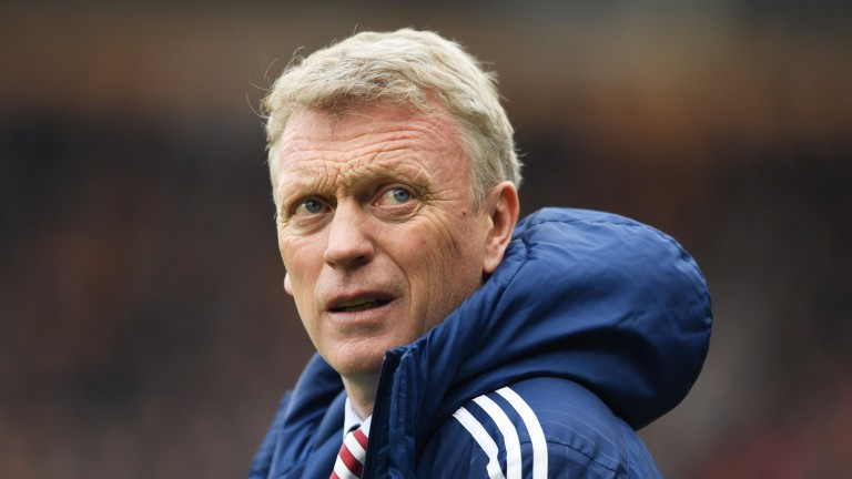 David Moyes: much-in-demand manager on the scoresheet at Carlisle on Sunday