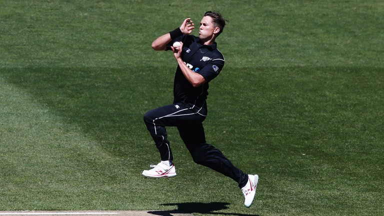 New Zealand bowler Trent Boult poses a major threat to England in Christchurch