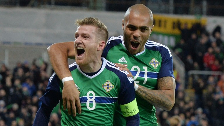 Steven Davis (left) and Josh Magennis are crucial to Northern Ireland's chances