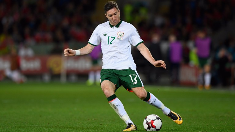 Stephen Ward looks set to feature for Ireland