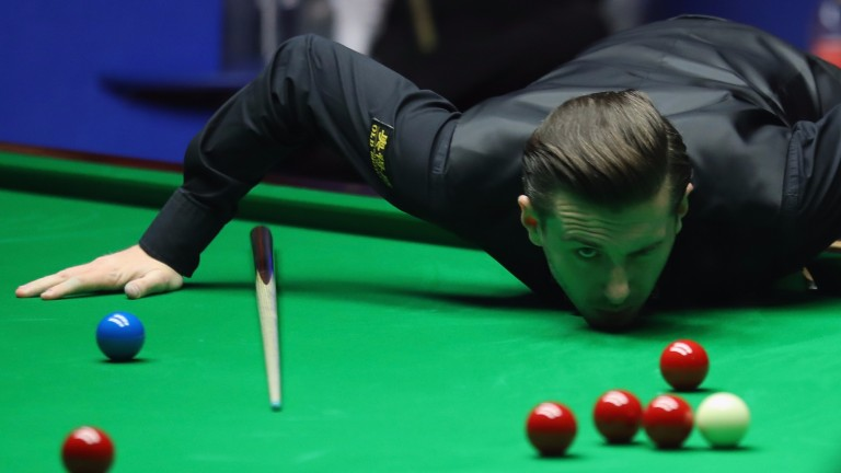 Mark Selby may be fresher than Luca Brecel after playing his semi-final first