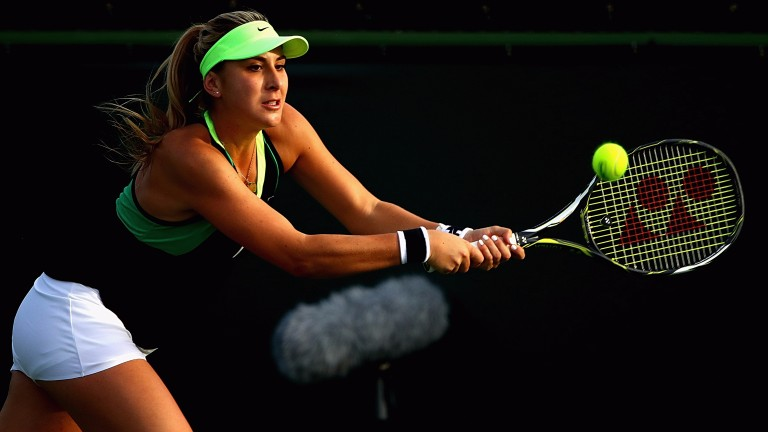 Belinda Bencic seems to be over her injury woes