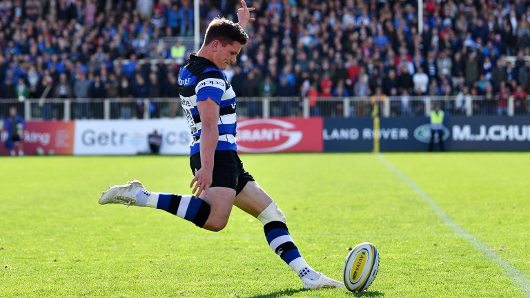 Fly-half Freddie Burns kicked 16 points in the Anglo-Welsh Cup win at London Irish